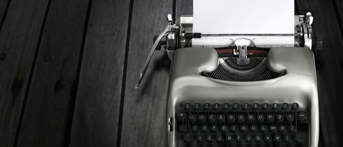 Foto: Antique Typewriter by Policas via Bigstockphoto.com